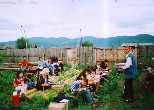 Studiu Biblic Inductiv in Siberia
