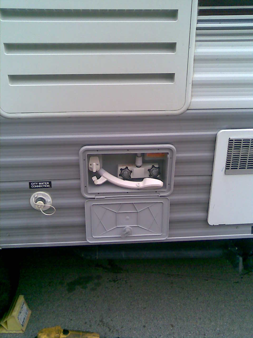 RV.Net Open Roads Forum: Travel Trailers: Outdoor shower install