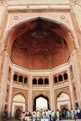Entrada a Fatehpur Sikri