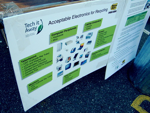 Tech it Away - Earth Day