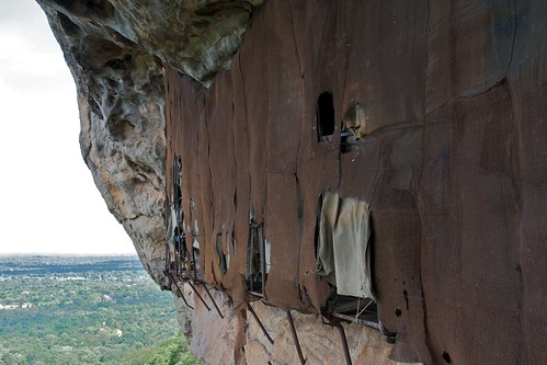 Sigiriya fresco viewing area