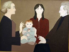 Four_Generations_[Will_Barnet] (Massimo Valiani) Tags: italy vatican rome art modern women time daughter mother picture will future expressionism present museums past generation barnet massimo valiani