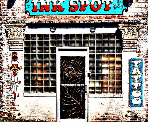 Ink Spot Tattoo Shop - Old MS Foundry Company; ← Oldest photo