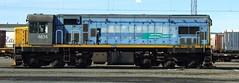 DC 4634 Wellington NZ (AA654) Tags: newzealand dc rail railway loco nz wellington locomotive tranzrail kiwirail