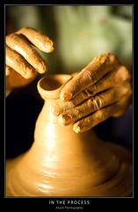 In the Process (@k@sh) Tags: canon 350d 50mm town hand scout read pottery f18 process making akash explored xplore