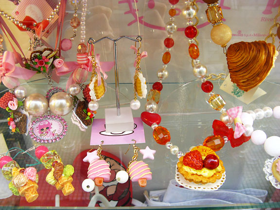 window shopping sweets jewels