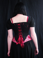 button corset 2 - back