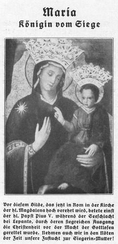 Maria, Königin vom Siege