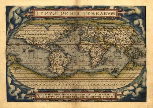 001-Theatrum Orbis Terrarum de Abraham Ortelius