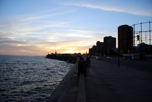 rambla before sunset