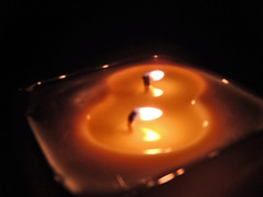 evening candle