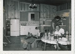 Vintage kitchen (andwhatsnext) Tags: blackandwhite kitchen northerncalifornia vintage cabin antique americana robinson russianriver clickamericanacom