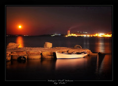 May's Full Moon (tolis*) Tags: sea moon canon island boat full greece moonlight tamron chios 50d eos50d tolis   flioukas 18270vc