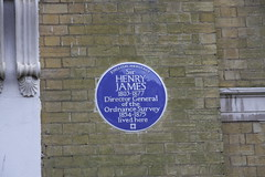 Photo of Henry James blue plaque