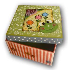 Caixa Sapinho (Minhas Crias) Tags: artesanato mdf decoupage trabalhosmanuais
