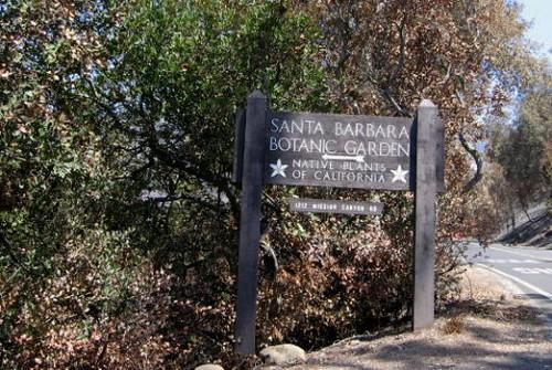 Santa Barbara Botanic Garden Entrance