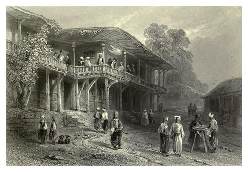 040- Cafe turco en Rutzschuk -Bulgaria 1844