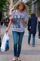 newyork manhattan cellphone blonde bracelet shoppingbag silverbracelet ephemeralartifacts culturalbehavior