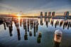 Docklands, Melbourne (Artie was here) (5ERG10) Tags: sunset sun reflection water sergio docks nikon waterfront may australia melbourne victoria pole handheld docklands poles 2009 hdr d300 sigma1020 amiti 5erg10 artiewashere sergioamiti