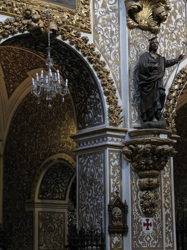 Hand-Painted Columns, Granada Church