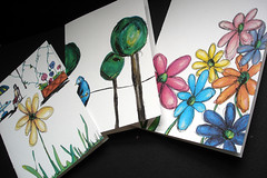 NEW Scribbles-Sketches Note Cards