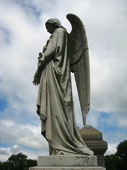 Scary Stone Angel Statues