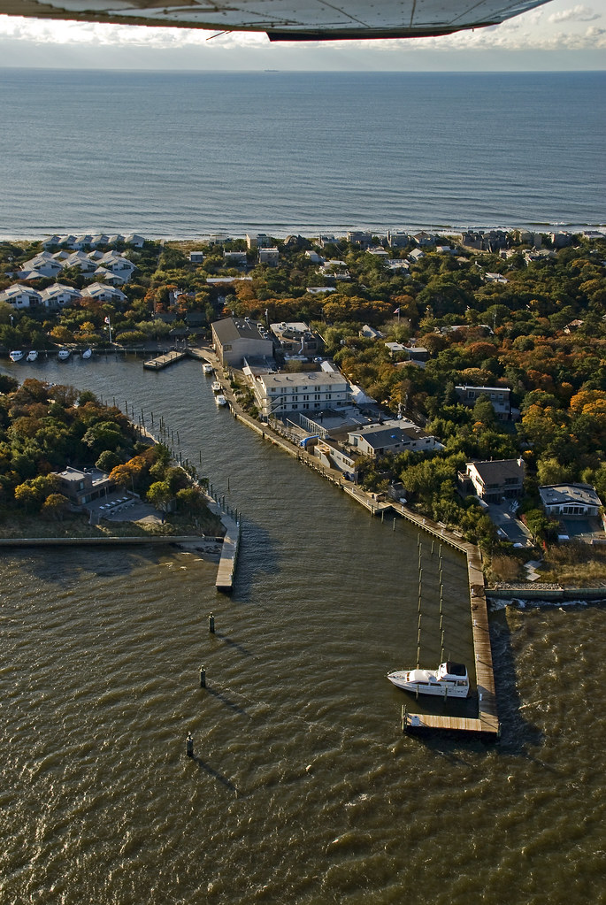Pines Fire Island Aerial