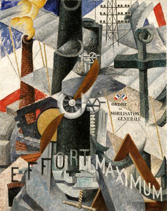 Severini, Gino (1893-1966) - 1914 Visual Synthesis of the Idea: