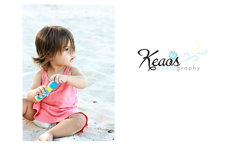 haley at the beach