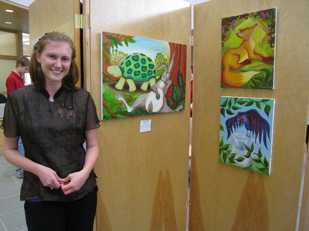 LIS Staff Art Exhibit 043