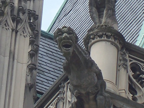 cool gargoyle on Biltmore house