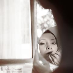 my first wedding () Tags: wedding portrait reflection window andy mirror bride andrea makeup andrew finestra ritratto matrimonio sposa specchio riflesso trucco sb800 benedetti sigma1850f28 strobist nikond90