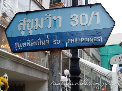 Soi Philippines in Bangkok