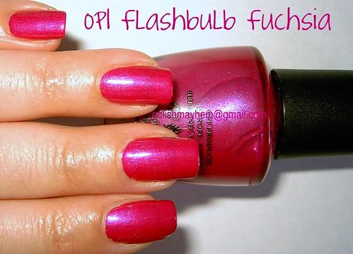 OPI Flashbulb Fuchsia
