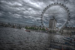 London Eye HDR (ShaneRounce.com Design and Photography) Tags: thames nikon londoneye highdynamicrange d60 hdrphotography shanerounce shanerouncecom lucygibson