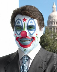 Rick Perry Clown