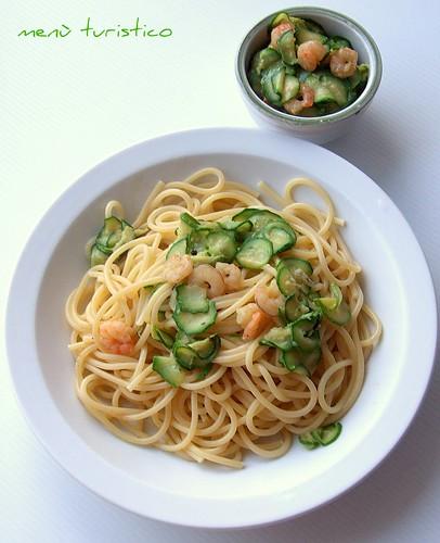 zucchino e gamberetti 004
