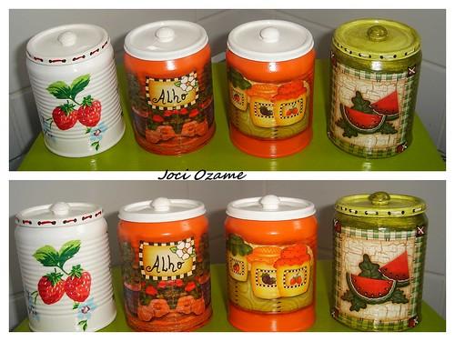 Latinhas - Reciclagem (Latas Recicladas)