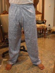 Celana Panjang selesai dijahit