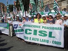 Pensionati Cisl - Roma 2009 (CISL dei LAGHI - Como e Varese) Tags: como cisl