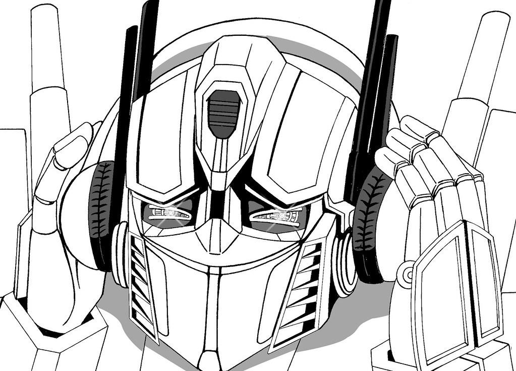 Optimus prime enjoy the music??????