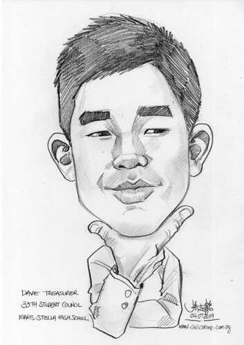 Caricature for Maris Stella High School -3