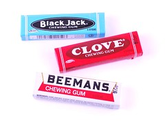 Black Jack, Clove and Beemans Gum