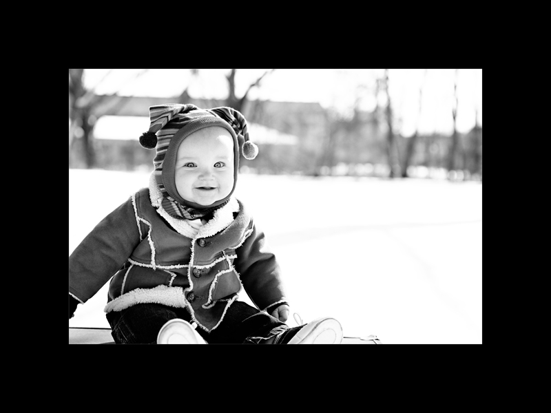 Landon outside 4 bw blog