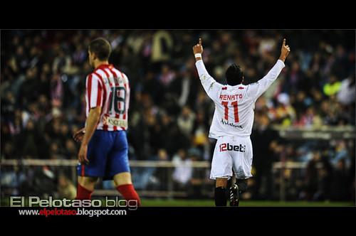 Gol de Renato en el Calderón
