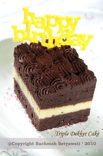Triple Dekker Cake