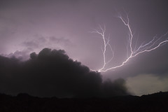 Mother nature playing (hshdude) Tags: indonesia ash thunderstorm lightning volcanoes eruption halmahera northmaluku dukono