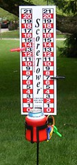 Cornhole Score Board Score Tower for Washers, Redneck Golf & Outdoor Games