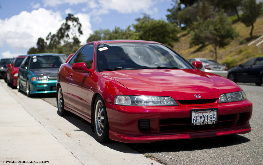 IMG_0317 Beautiful Red Integra With JDM ...