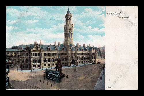 Town Hall Square, Bradford - c1905